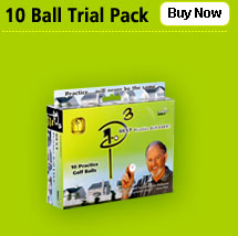 Point 3 Practice Balls - 10 Ball Pack